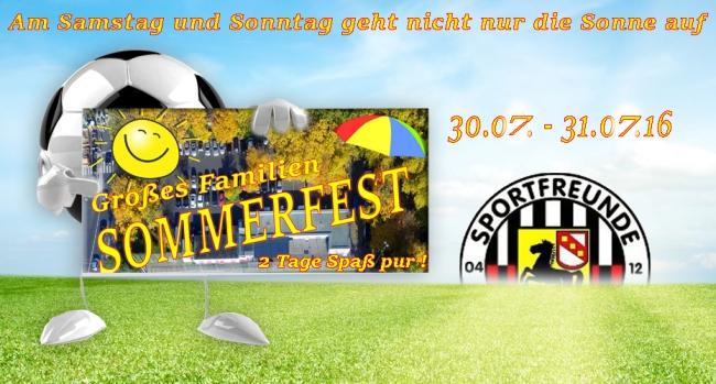 Sommerfest für Jung und Alt