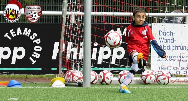 Fußballfabrik 2017 wieder bei den Sportfreunden